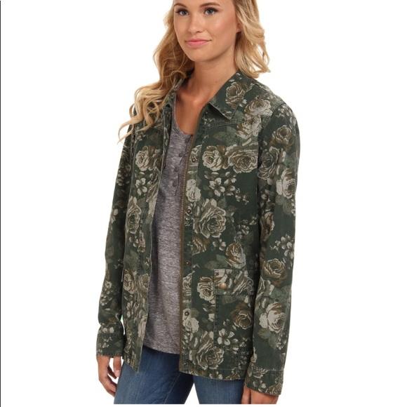 7a76a0fc11b67 Volcom Jackets & Coats | Stone The Hunt Floral Jacket | Poshmark